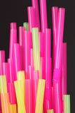 Drinking straws Stock Photos