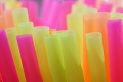 Drinking straws Royalty Free Stock Image