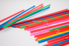 Drinking straws Royalty Free Stock Photography