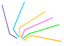 Drinking straws isolated Stock Photo