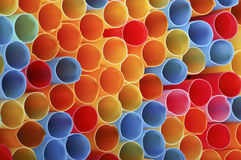 Drinking straws Royalty Free Stock Images