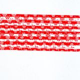 Drinking straws for party on white background. Top view of colorful paper straws for cocktails. Place for text, copy space. Drinking straws for party on white stock image