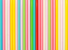Drinking Straws Pattern Royalty Free Stock Photo