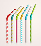 Drinking Straws Stock Photography