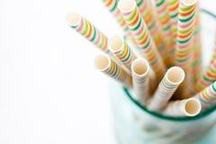 Drinking straws Royalty Free Stock Photos