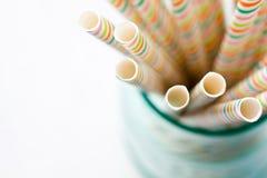 Drinking straws Royalty Free Stock Photo