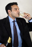 Drinking To Success Stock Photography