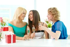 Drinking for us Stock Images