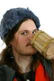 Drinking viking Royalty Free Stock Photos