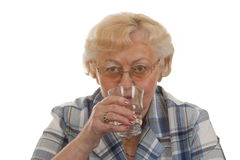 Drinking Water royalty free stock photos