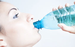 Drinking water Stock Images