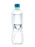 Drinking water bottle with blank label Royalty Free Stock Image