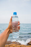 Drinking water bottle Royalty Free Stock Photo
