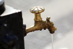 Drinking water faucet Stock Photography