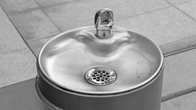 Drinking water fountain Royalty Free Stock Photos