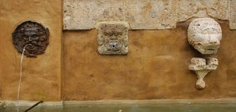 Drinking Water Fountain in Pitigliano 2 Stock Image