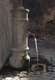 Drinking water fountain in Rome, Italy Stock Photos