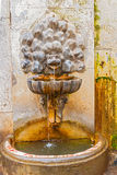 Drinking water fountain in Rome, Italy. Stock Photography