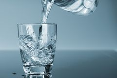 Drinking water royalty free stock image