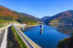 Drinking water reservoir Sance Recice stock photography