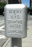 Drinking Water Sampling Station Royalty Free Stock Photos