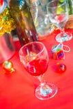 Drinking of wine Stock Photo
