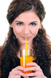 Drinking royalty free stock photography