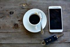 Drinkkaffe för avvikelse arkivbild