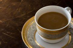 Drinkkaffekopp royaltyfri foto