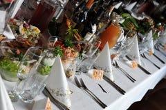 drinkmat Royaltyfria Bilder