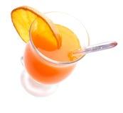 drinkorange Royaltyfri Bild
