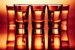 Drinks in bar Stock Image