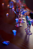 Drinks on the bar Royalty Free Stock Photography