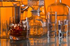 Drinks in bar Stock Photos