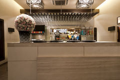 Drinks bar at a restaurant Royalty Free Stock Image