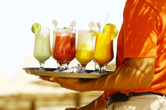 Drinks on the beach - Enjoy Stock Images
