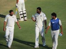 Cricket Drinks Break Stock Images