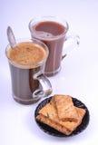 Drinks for breakfast Stock Images