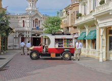 Drinks car in Main Street - EuroDisney Royalty Free Stock Images