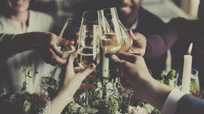 Drinks Cheers Together Celebration Concept Royalty Free Stock Images