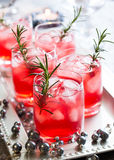 Drinks for Christmas Stock Images
