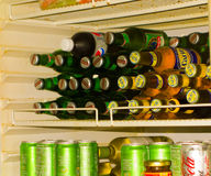 A drinks cooler at mac's pizzeria on bequia Stock Image