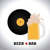 Drinks design Royalty Free Stock Image
