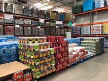 Costco Wholesale Shopping Stock Photos