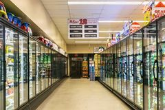 McKay`s market interior stock photography