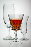 Drinks glasses Stock Photo