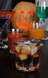 Drinks for Halloween Stock Images