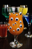 Drinks for Halloween Royalty Free Stock Photos