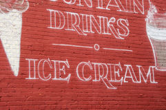 Drinks and Ice Cream Royalty Free Stock Photos