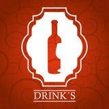 Drinks menu Stock Image